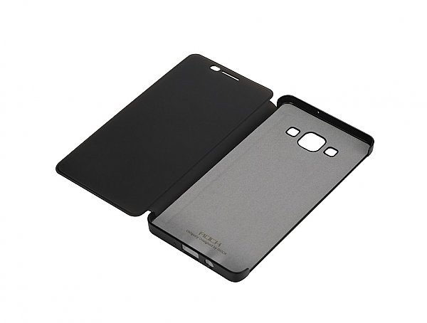 Θήκη ROCK Flip Case DR.V Series for Galaxy A7 Black