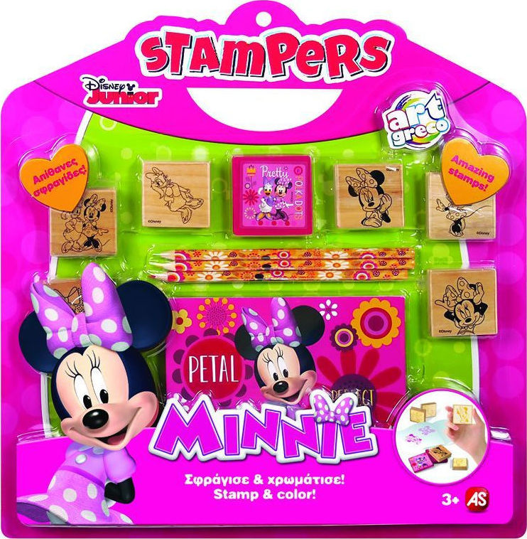 As Company Minnie Stampers Set