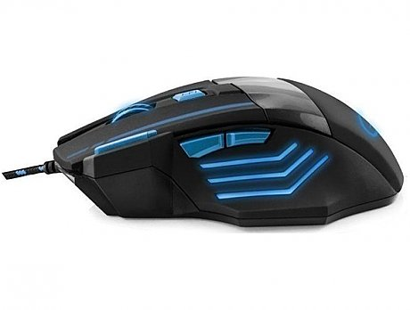 Mouse Esperanza MX201 7D wolf blue wired