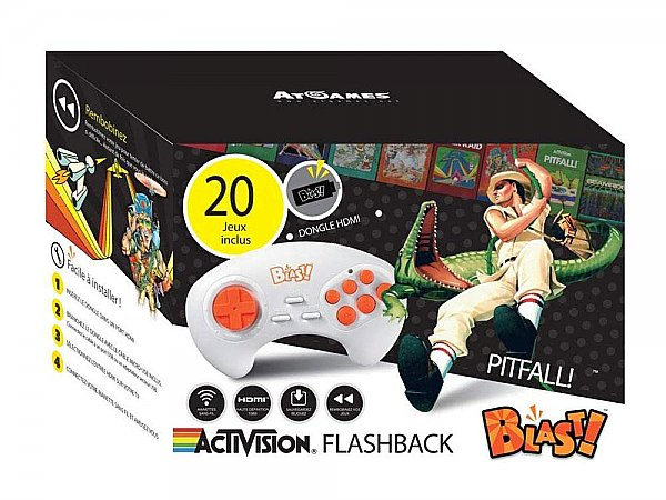 Console Activision Flashback Blast 20 Games