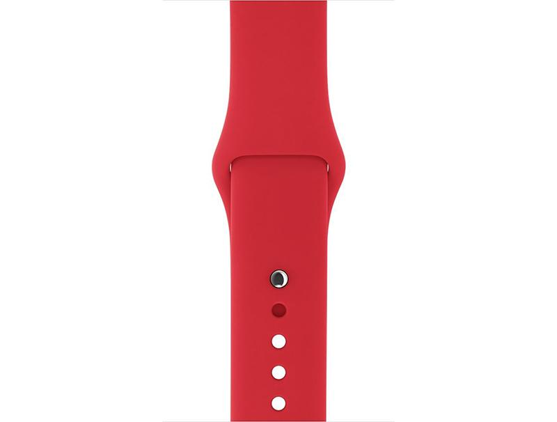 Strap Flexible Smoothband Red Apple Watch 1/2/3 38mm
