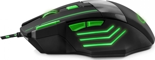 Mouse Esperanza MX201 7D wolf green wired