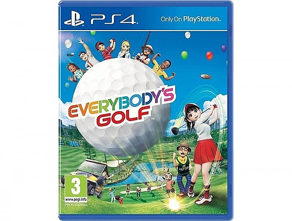 Game Everybody's Golf PS4