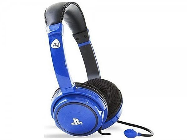 Gaming Headset 4GAMERS Pro4-40 PS4 Blue, 10.ACS4GA00002