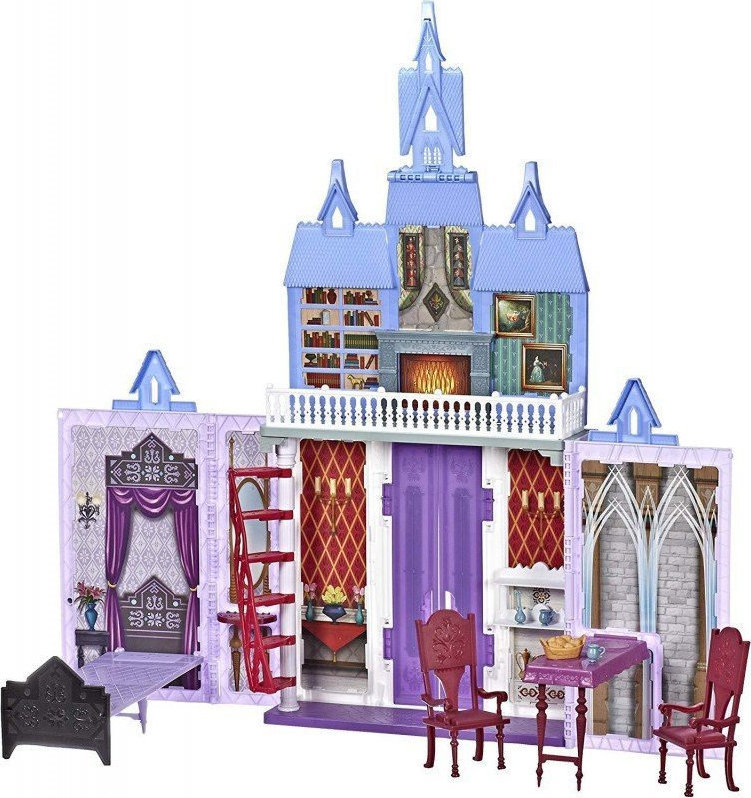 Hasbro Disney: Frozen II - Fold and Go Castle Arendelle Playset (E5511EU4),enx.053002