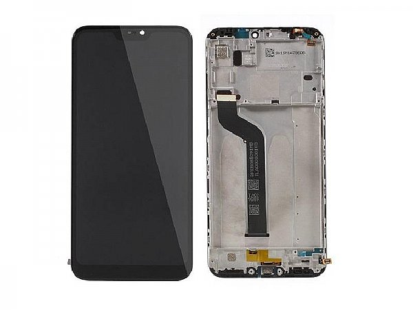 LCD Display Touch + Front Cover Xiaomi Mi A2 Lite / RedMi 6 Pro Black Service Pack