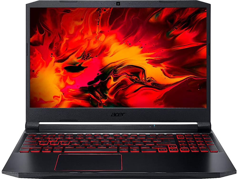 "Laptop Acer Gaming Nitro 5 AN515-55 15.6"" 1920x1080 i7-10750Η,16GB,512GB,GeForce RTX 2060 6GB,Dos,Black Obsidian, 10.COMACE00174"