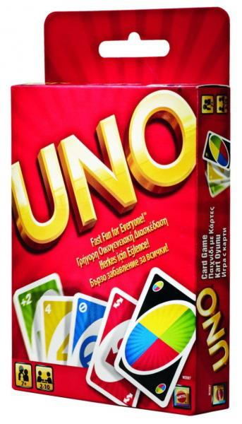 MATTEL UNO CARDS - CARD GAME (W2087),enx.016435,746775036744