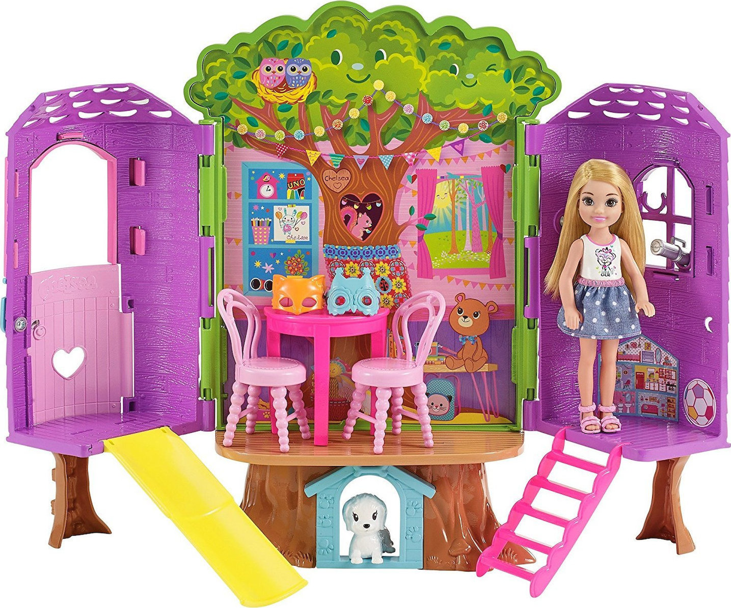 Mattel Barbie Club Chelsea -Treehouse (FPF83),enx.044269