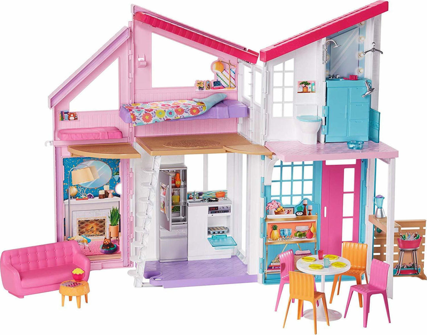Mattel Barbie - Malibu House Playset (FXG57),enx.051754