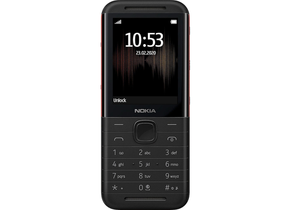Nokia 5310 16MB Dual Sim - Black/Red,pub.1534937