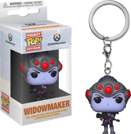 Funko Pocket POP! Overwatch - Widowmaker Keychain Vinyl Figure