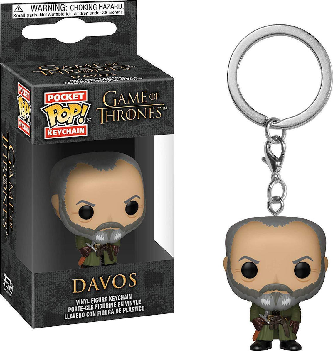 Pocket POP! Game of Thrones S10 - Davos Keychain