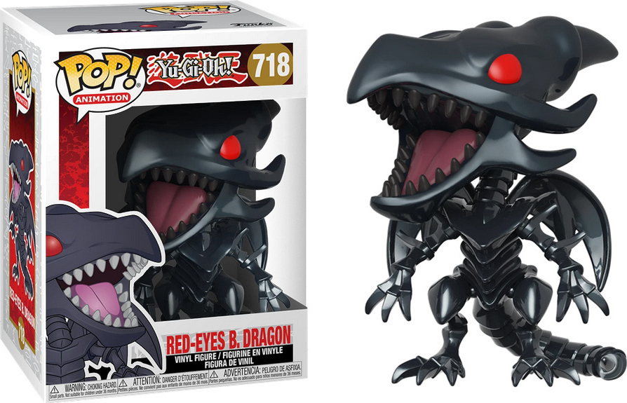 Funko POP! Animation: Yu-Gi-Oh - Red-Eyes Black Dragon #718 Vinyl Figure