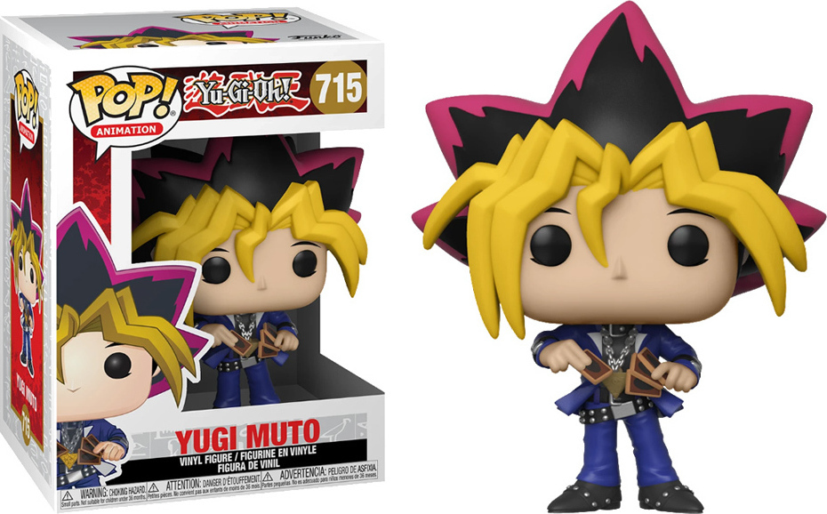 Funko POP! Animation: Yu-Gi-Oh - Yugi Mutou #715 Vinyl Figure