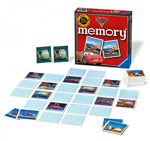 Ravensburger Memory Cars 2 Disney