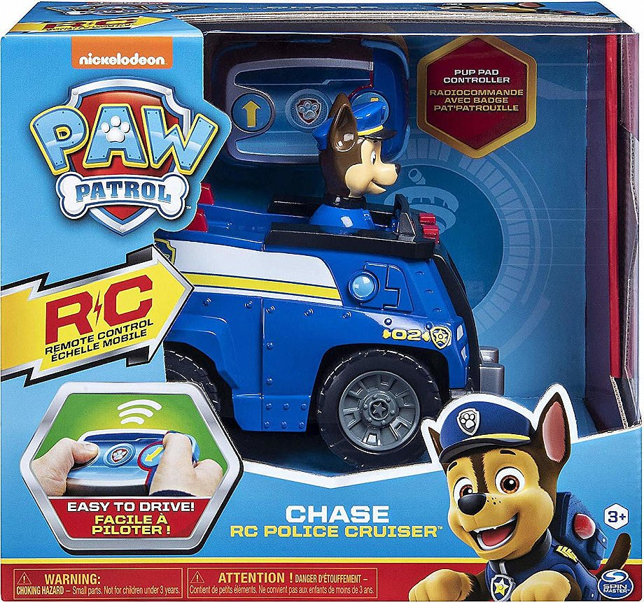 Spin Master Chase RC Police Cruiser