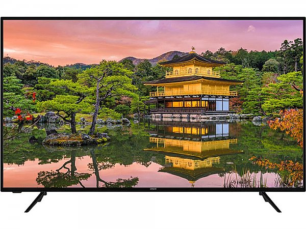 "TV HITACHI 43"", 43HK5600, LED, UltraHD, Smart TV, 1200 BPI"