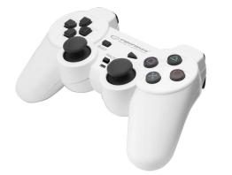 Gamepad Esperanza Corsair EGG106W wired white buttons PC/PS3, 10.ACSESP00031