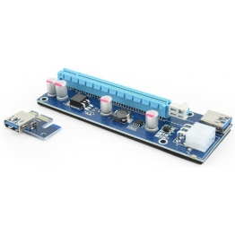 GEMBIRD PCI-EXPRESS RISER ADD ON CARD 6PIN POWER CONNECTOR,st.RC-PCIEX-03