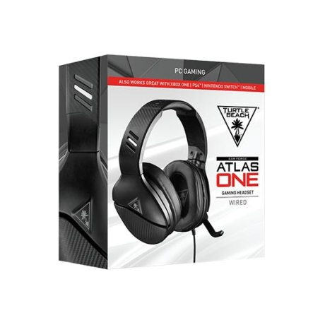 Gaming Headset Turtle Beach Atlas One Black